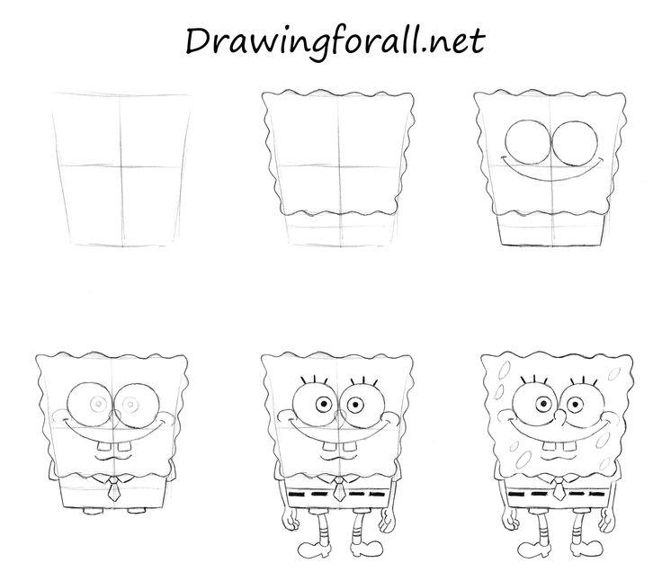 Spongebob Squarepants Drawings Step By Step 25+ best ideas ...