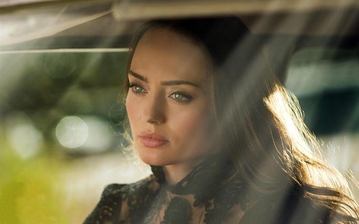 Télécharger fonds d'écran Laura Haddock, 4k, actrice anglaise, portrait, beauté, Hollywood