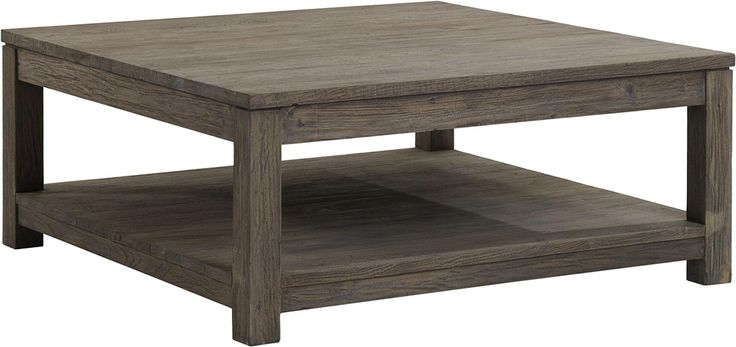Weathered Grey Square Coffee Table Gt Coffee Table