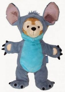 Upcoming Duffy the Disney Bear Costumes and Plush Releases! ~ Stitch Duffy Bear Disney outfit!!