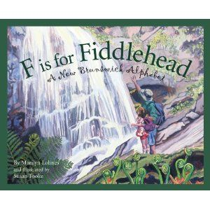 F is for Fiddlehead: New Brunswick - to read aloud for Canada Quilt Project