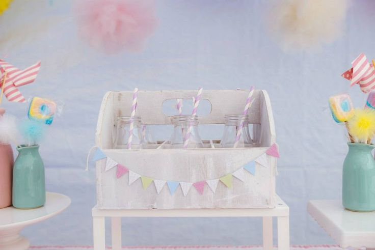 Pastel party ideas from Little Party Love