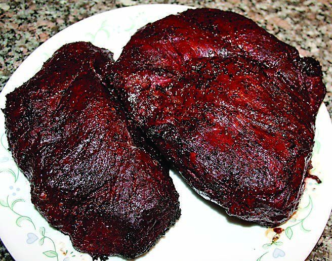 Proper smoking technique yields a beautiful, succulent piece of meat. (photo courtesy of smokingmeatforums.comMichael C. Bolton The 2014-2015 Alabama bow season has been underway for almost a month now and we're just weeks away from the beginning of gun season....