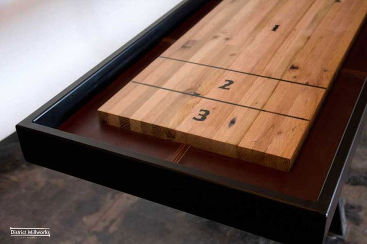 how to move a shuffleboard table
