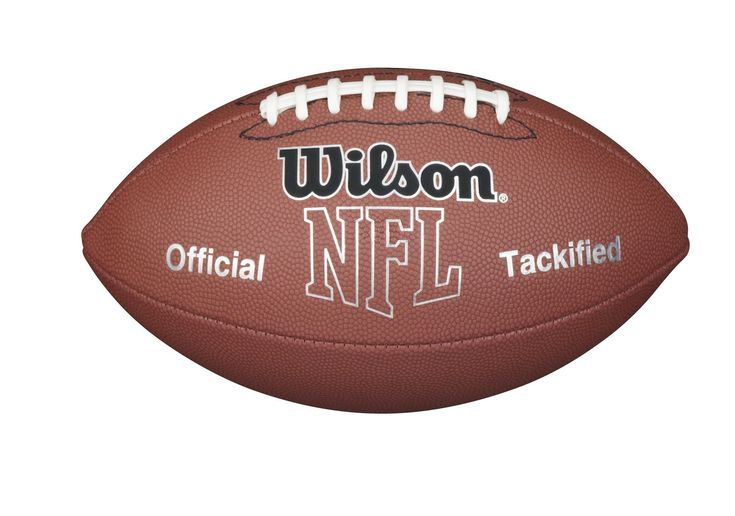 Wilson NFL MVP Pee Wee Football, Brown. Bring the Big Game to the Backyard. Tacky material for enhanced grip. Peewee size. Recommended for players aged 6-9. Synthetic cover ready for play.