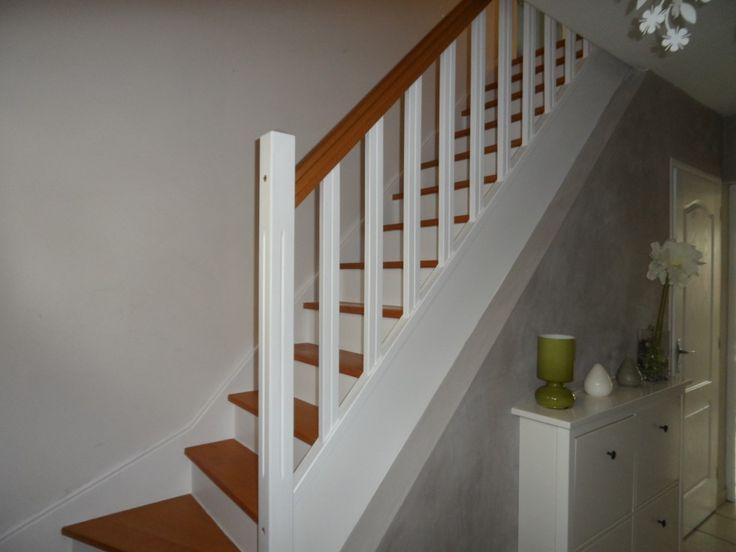 Les 25 meilleures id es concernant peindre des escaliers for Peindre escalier beton interieur