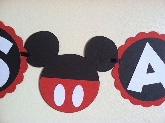 Mickey Mouse Baby shower banner - Its a boy, ready to pop, baby boy, Baby shower Ideas