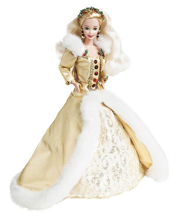 1000 images about barbie winter dress on pinterest - Barbie de noel 2012 ...