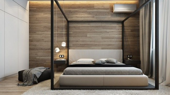 Dark And Sophisticated Interior With Industrial Style (6)