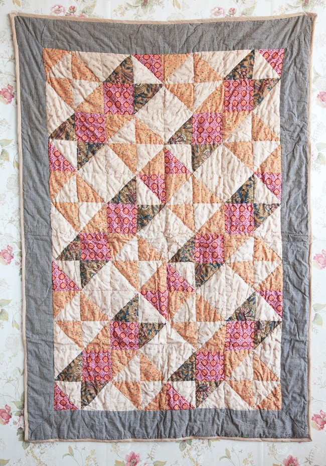 Harvest Moon Decorative Quilt | Modern Vintage Home & Office $39.99