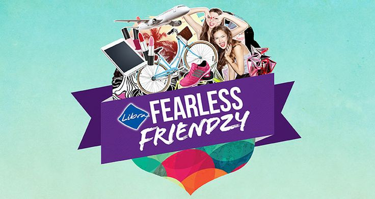 I just entered Libra's Fearless Friendzy comp and you should too! From Jetstar vouchers to Mimco bags, there's heaps to be won!