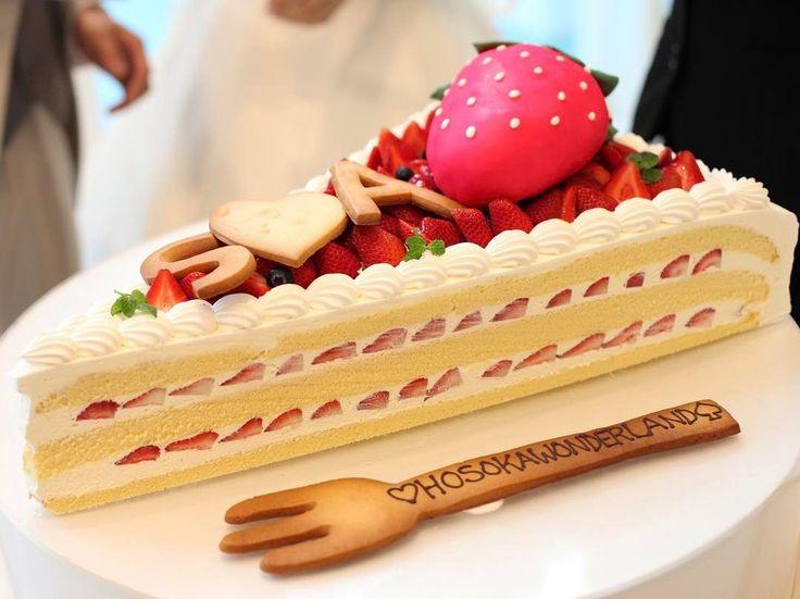 可愛くって珍しいウェディングケーキデザインまとめ   marry[マリー]