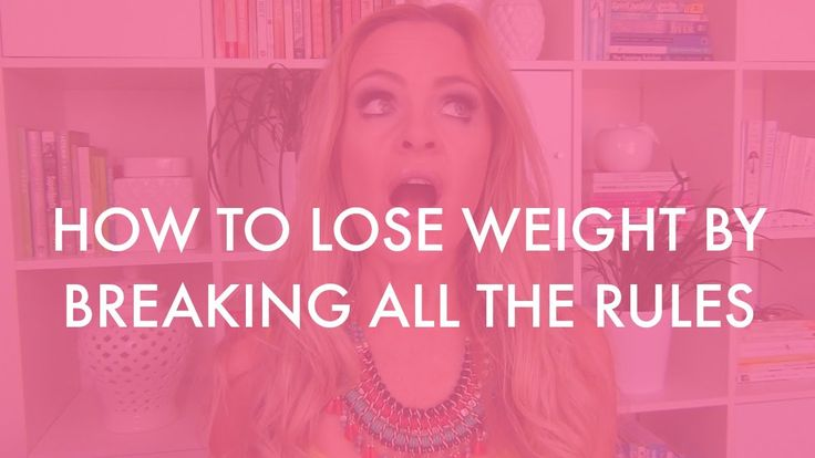 HOW TO LOSE WEIGHT BY BREAKING ALL THE RULES www.kyliepax.com/bootcamp
