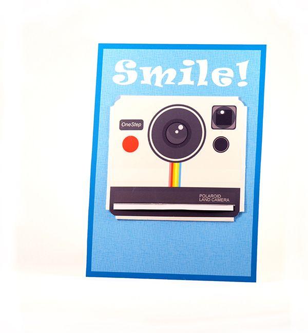Die besten 25 geburtstagskarte kamera basteln ideen auf - Polaroid karten ...