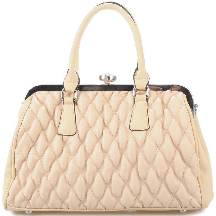 Aliston bag - pikowana torebka na bigiel