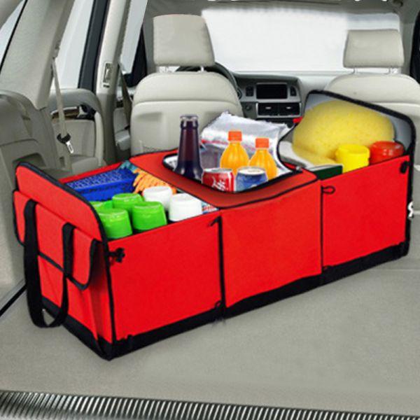 28 57 45 Off العالمي سيارة التخزين المنظم جذع للطي اللعب الغذاء تخزين شاحنة حاوية البضائع أكياس Car Trunk Organizer Storage Car Trunk Storage Car Storage