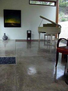piso de cemento pulido