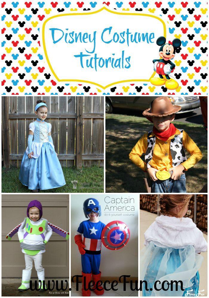 121 best disney villains and heroes costume ideas and diy images on disney costume tutorials diy solutioingenieria Gallery
