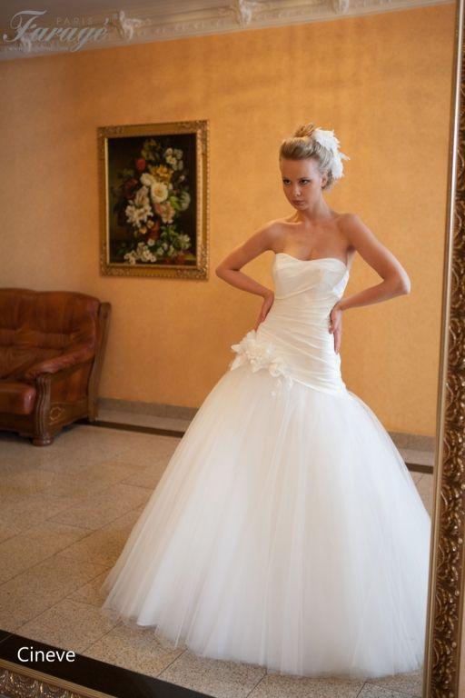 robe de mariée Faragé