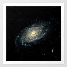Stellar Galaxy Art Print