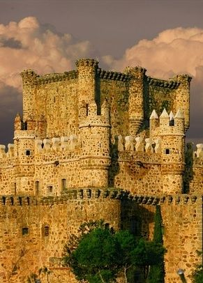 Guadamur castle, Toledo, Spain