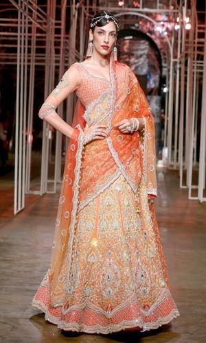 Tarun Tahiliani Bridal Collection 2013-14 At Aamby Valley India Bridal Fashion Week 2013
