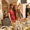 Neige and Pippa--sisters and owners of routine. de-odor-cream at Market Collective