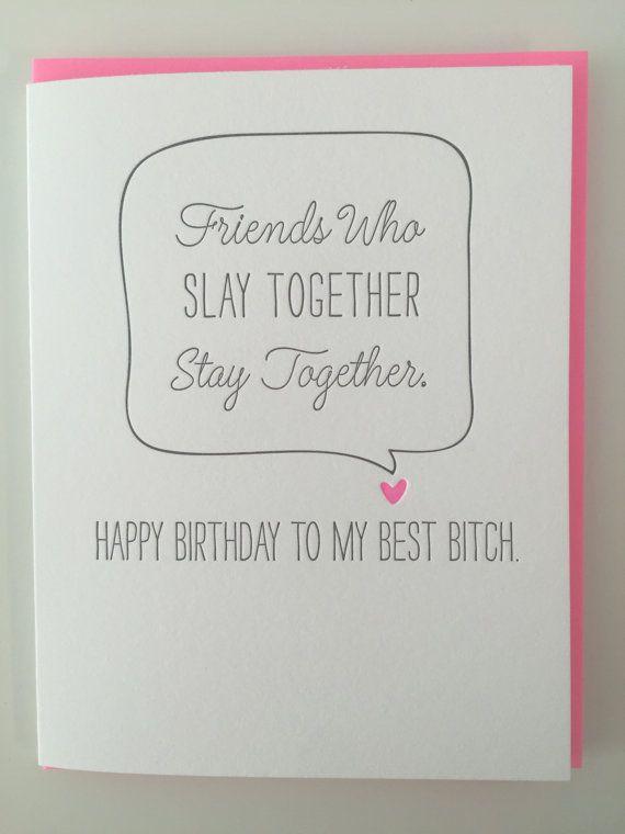 Besten Freund Geburtstagskarte beste Hündin Karte ich