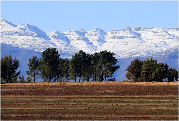 Winter in  The Mountain Kingdom of Lesotho...