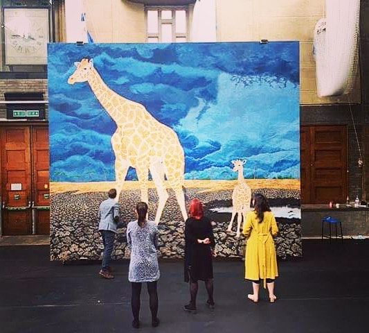 Our team are super excited for the @artworldconservation #thisisourworld exhibit in the Lawrence Hall. Check out London Live tonight and come see this free exhibition from 10am tomorrow! @bornfreefoundation @ifawuk #exhibition #conservation #animalconservation