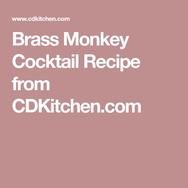 Brass Monkey Cocktail Recipe from CDKitchen.com