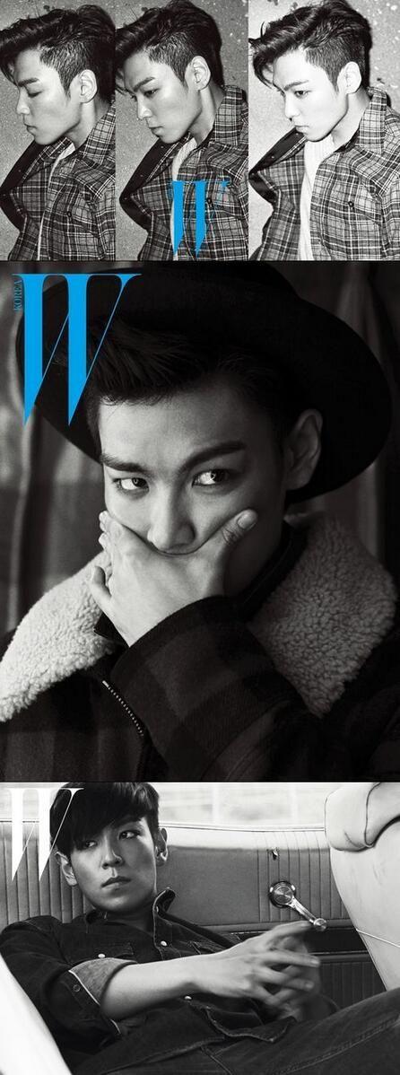 """TOP (Choi Seung Hyun) ♡ #BIGBANG #KPOP - """"W Magazine: Korea"""" (November 2013)"""