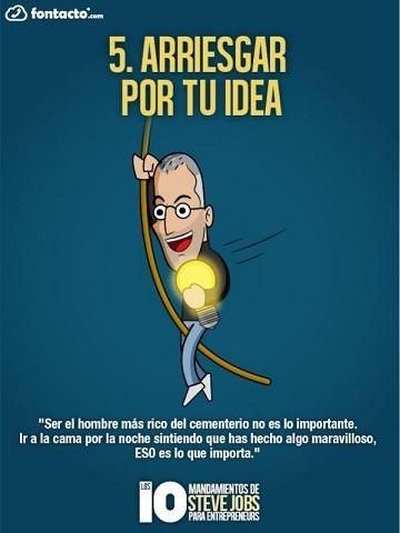 El Decálogo de Steve Jobs para el Éxito Emprendedor (2a. Parte)   1000 Ideas de Negocios