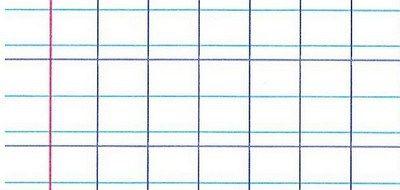 Apprendre à écrire: Séyès et double interligne à imprimer. Téléchargement gratuit en PDF et ODG (open office)