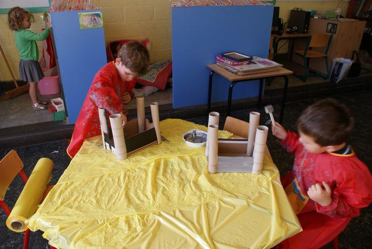 Kasteel bouwen