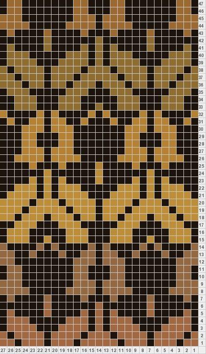 Sherlock Holmes wallpaper knitting pattern