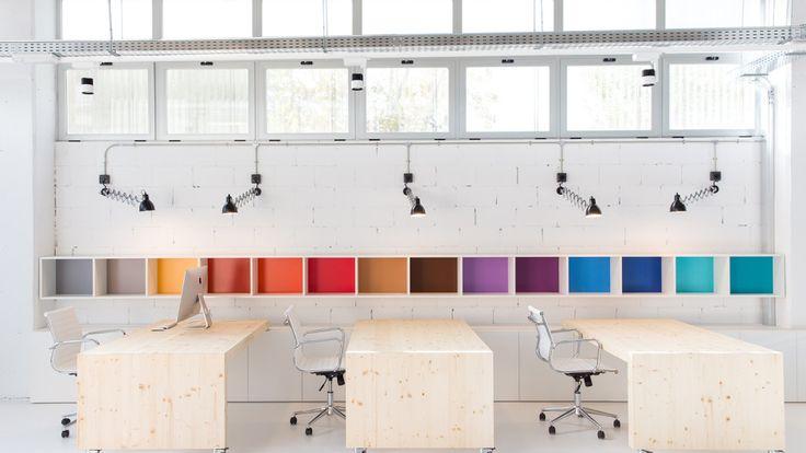 Oficinas pHformula en Barcelona. Sin #cosmética en su diseño  #BaletRoselloArquitectos