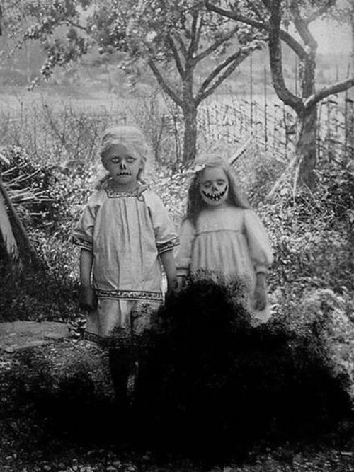 Creepy Kids...