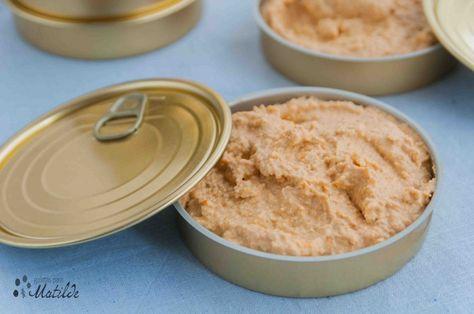 Receta de paté de mejillones y atún