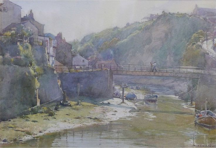 Late afternoon sun, Staithes