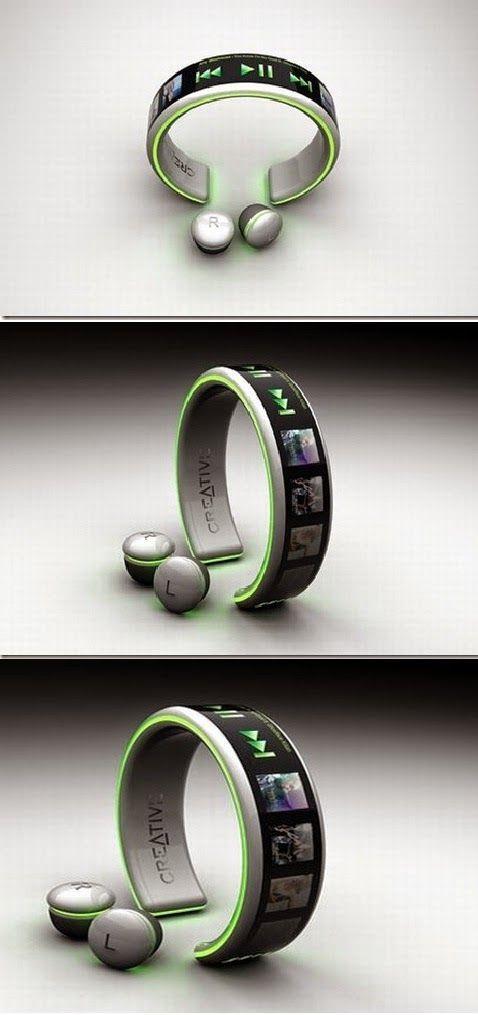 Best Latest Technology: MP3 Player Innovative Concept