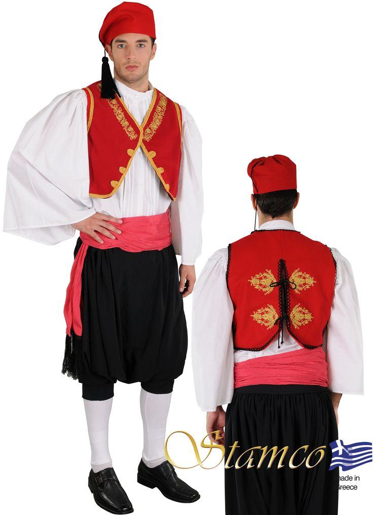 Folklore Greek costumes for Men, Greek traditional costume  aegean Islands,cyclades AEGEAN ISLANDS EMBR.