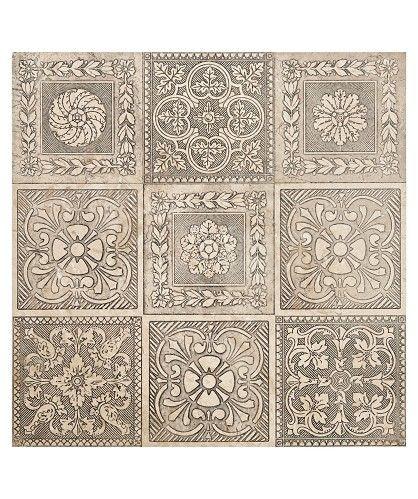Caspari™ Antiqued Silver Tile