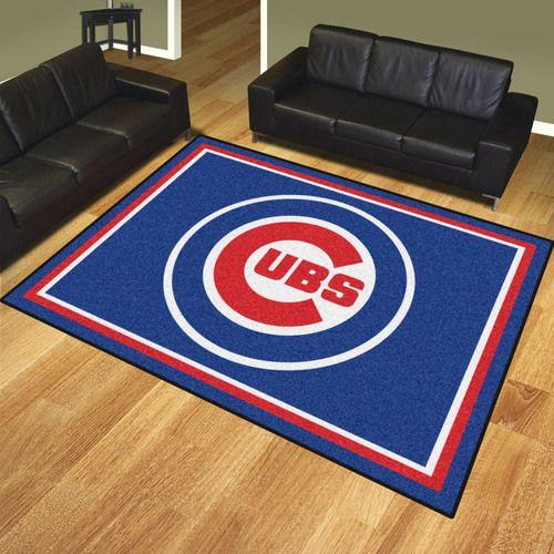 Chicago Cubs 8' X 10' Decorative Ultra Plush Area Rug