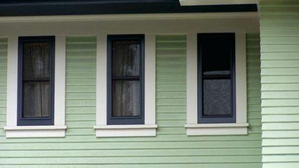 Craftsman Style Exterior Window Trim Elegant Options Pinterest Pertaining To 9 Craftsman In 2020 Window Trim Exterior Craftsman Style Exterior Windows Exterior