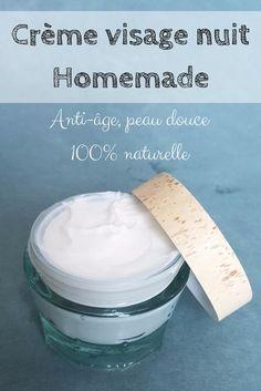 Creme visage nuit Homemade super texture +senteur fleur d'Orangé ou au choi…