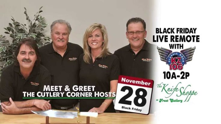 Meet and Greet The Cutlery Corner Show Hosts at The Knife Shoppe at Fros...
