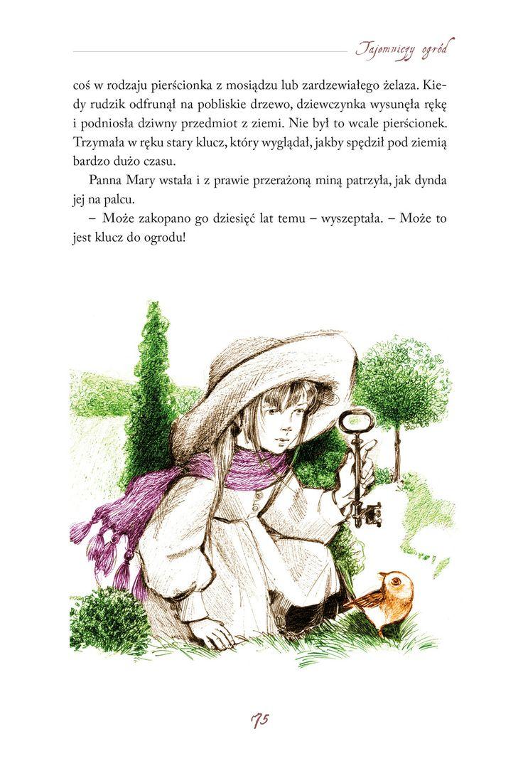 Tajemniczy ogród, il. Alicja Rybicka