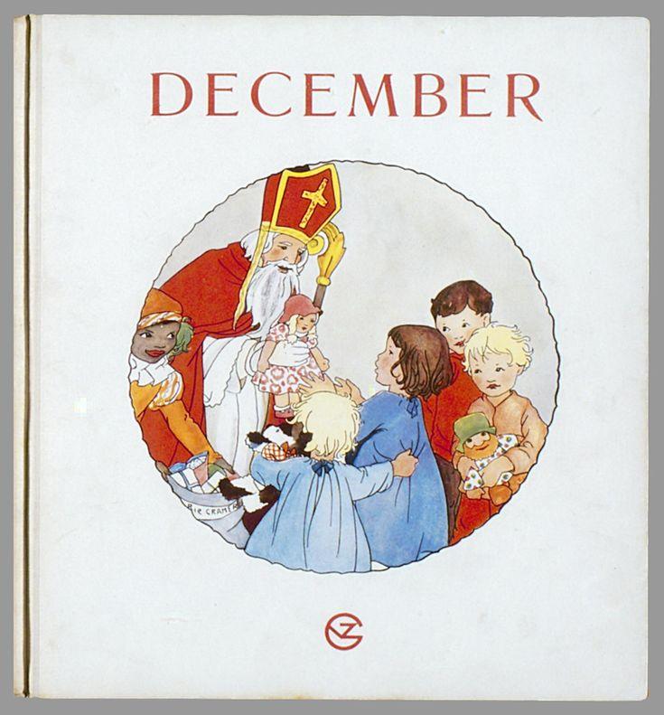 Sinterklaas....drawing by Rie Cramer