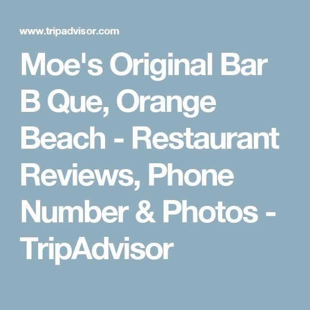 Moe's Original Bar B Que, Orange Beach - Restaurant Reviews, Phone Number & Photos - TripAdvisor